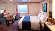 Cabina Familiar Exterior con Vistas al Mar
