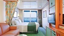 Cabina de Lujo con Balcón y Vistas al Mar