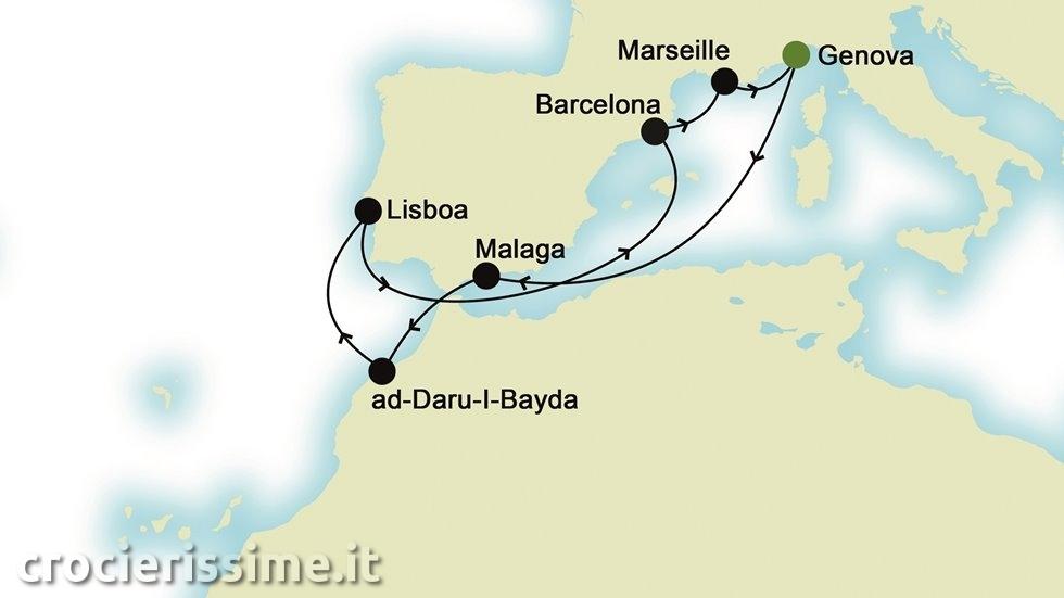 MEDITERRANEO da Genova