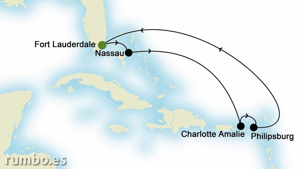 CARIBE desde Fort Lauderdale