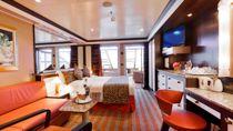Cabine Suite Samsara vue mer avec veranda et jacuzzi