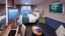 Cabine Sipérieure avec balcon et Vue sur la Mer