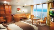 Owner's suite con balcón grande