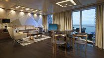 The Haven Deluxe Owner's Suite avec grand balcon