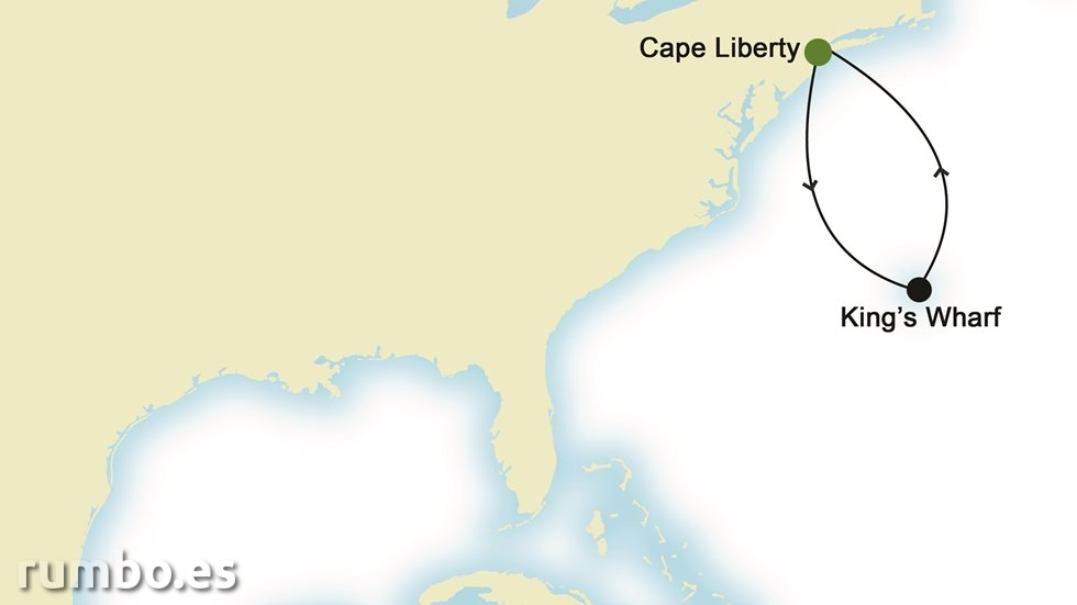 NORTEAMÉRICA desde Cape Liberty