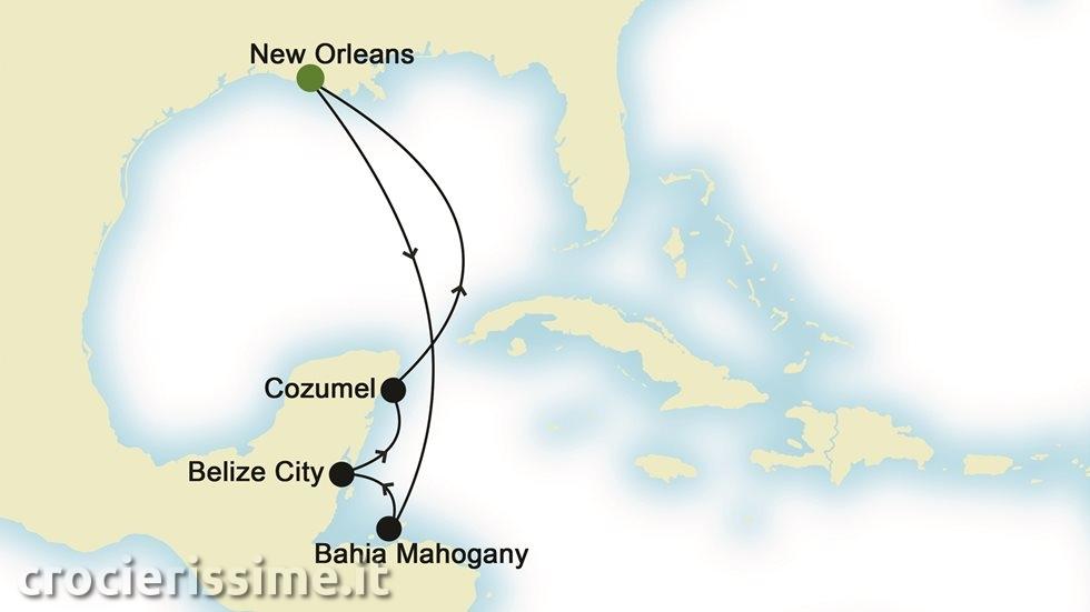 ISOLE CARAIBICHE da New Orleans