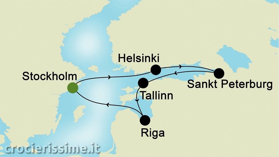 CAPITALI BALTICHE da Stoccolma