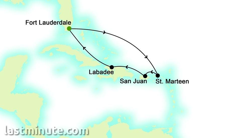ÎLES CARIBÉENNES au départ de Fort Lauderdale