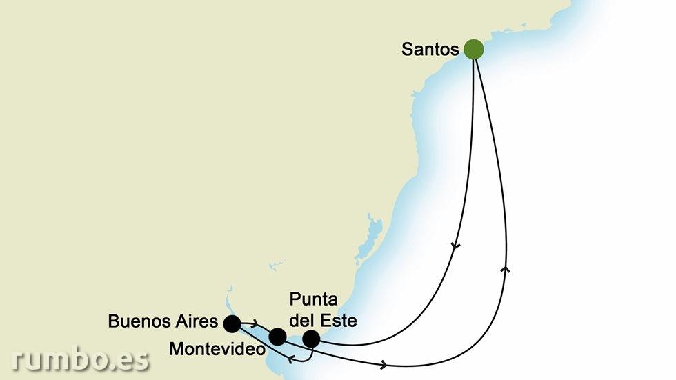 SUDAMÉRICA desde Santos