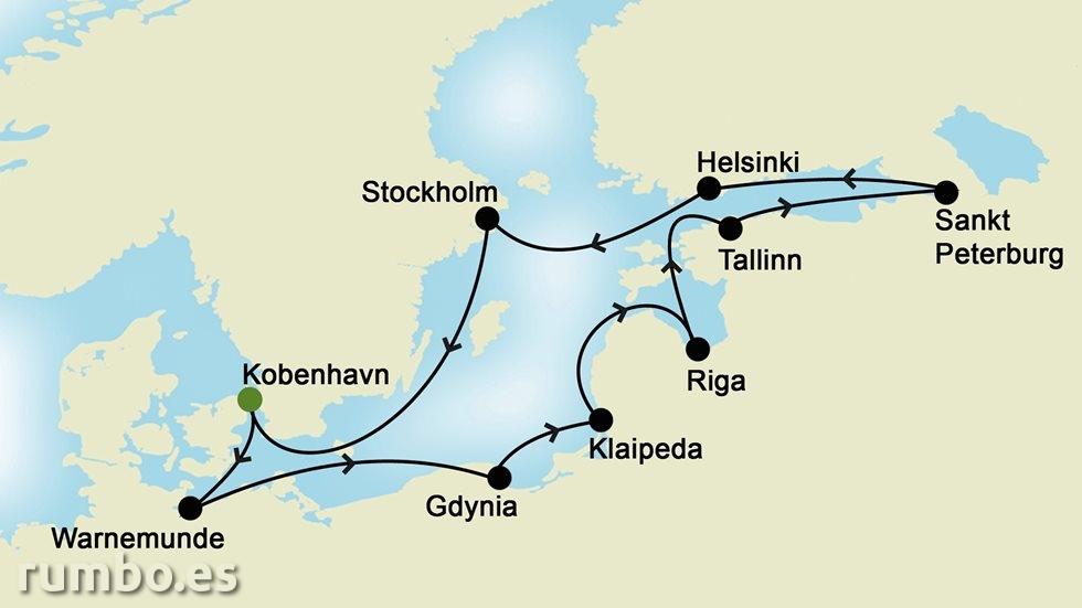 FIORDOS NORUEGOS desde Copenhague
