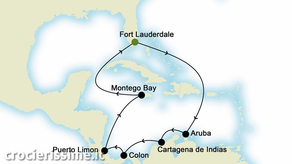 ISOLE CARAIBICHE da Fort Lauderdale