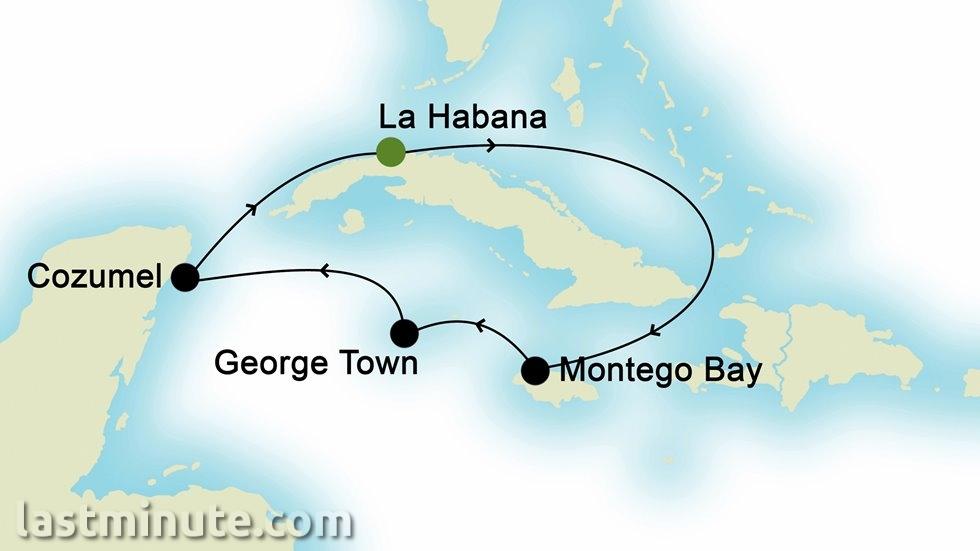 ÎLES CARIBÉENNES au départ de La Havane