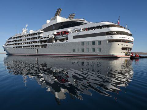 Crucero Ponant Círculo Polar Antártico